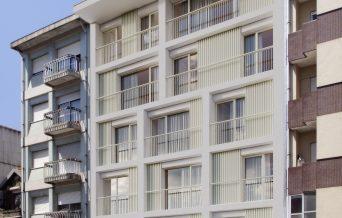 Imagem virtual da fachada
